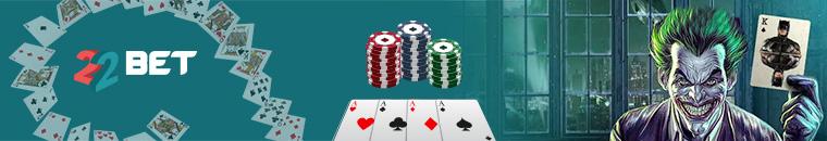 22bet poker